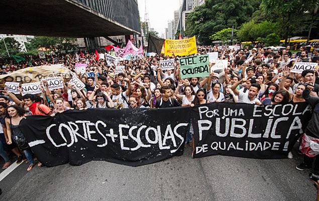 Queremos educação pública para todos!