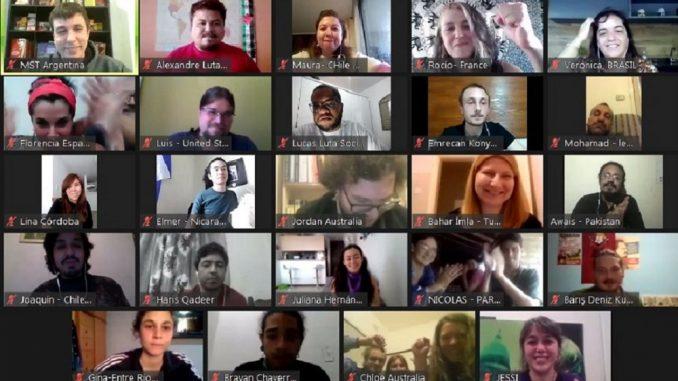 Mais de 30 países, 5 continentes: uma celebração do internacionalismo jovem